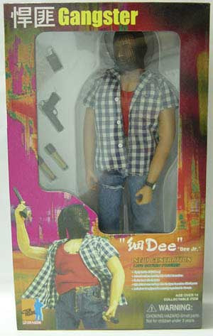 DRAGON MODELS 1/6th Action Figure DEE JR. Box Set #72024