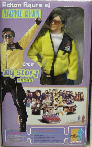 DRAGON MODELS 1/6th Action Figure JACKY CHAN MY STORY Box Set #73009