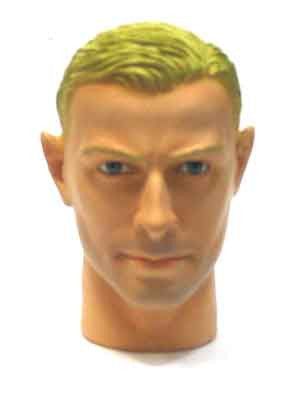 Dragon Models  Loose 1/6th Head Sculpt Arthur Barnes British WWII Era #DRHS-ARTHUR