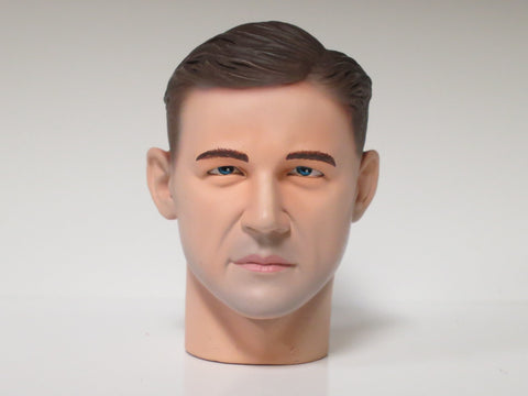Dragon Models Loose 1/6th Head Sculpt Bobby Woll Ver. 2 German WWII Era #DRHS-BOBBY2