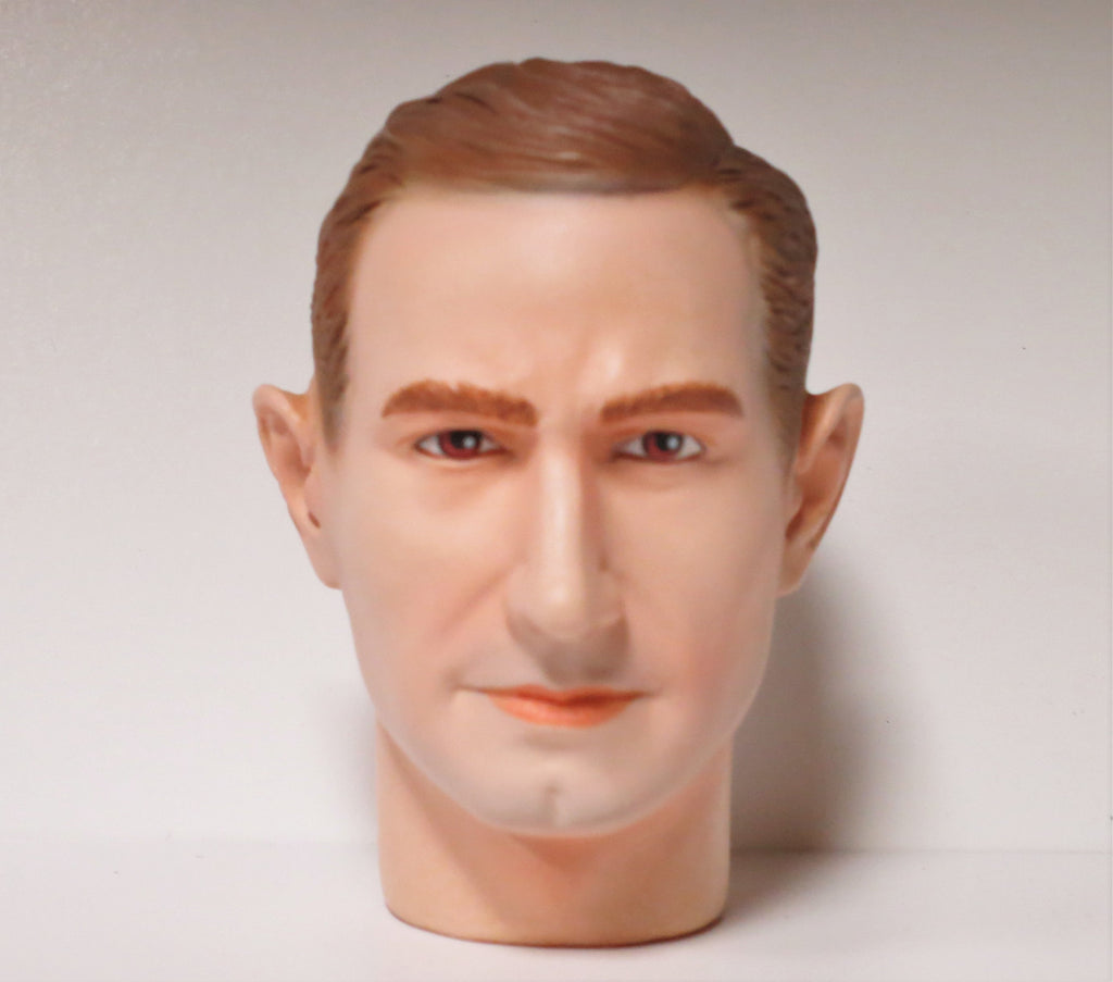 Dragon Models Loose 1/6th Head Sculpt Charles Black British WWII Era #DRHS-CHARLES