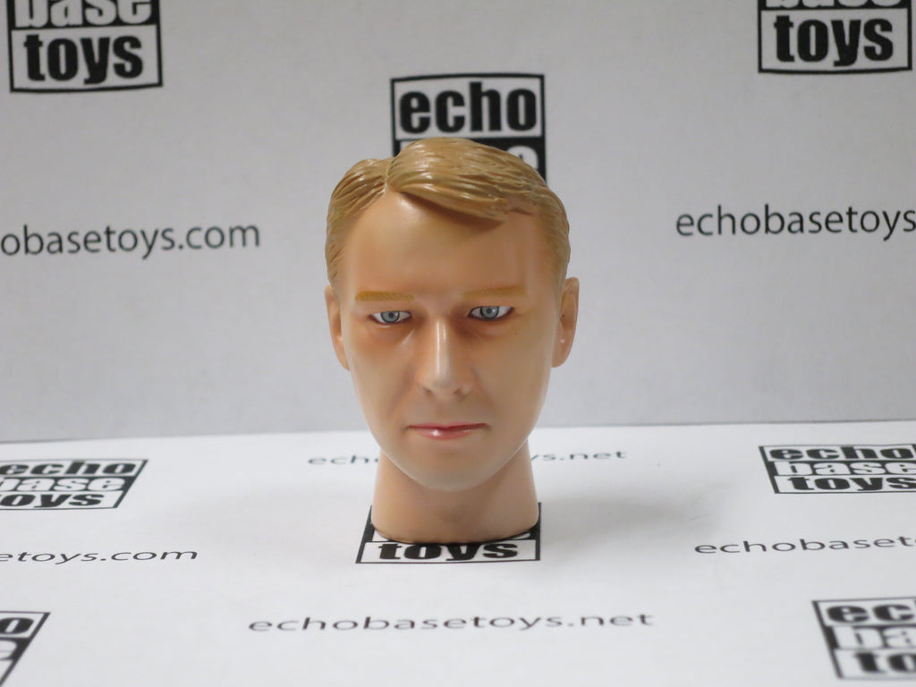 Dragon Models Loose 1/6th Head Sculpt Edwin Modern Era #DRHS-EDWIN