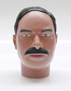 Dragon Models Loose 1/6th Head Sculpt Smith Modern Era #DRHS-SMITH