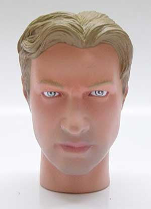 Dragon Models Loose 1/6th Head Sculpt Chris Modern Era #DRHS-CHRIS