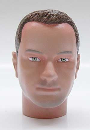 Dragon Models Loose 1/6th Head Sculpt Kevin Anderson Modern Era #DRHS-KEVIN
