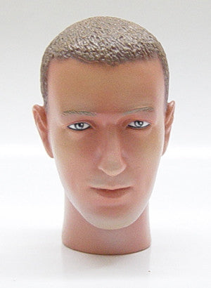 Dragon Models Loose 1/6th Head Sculpt Roger Modern Era #DRHS-ROGER