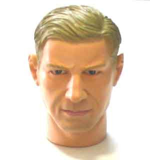 Dragon Models Loose 1/6th Head Sculpt Sergio Martelli Italian WWII Era #DRHS-SERGIO