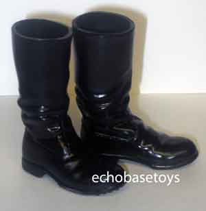 Dragon Models Loose 1/6th Scale WWII German Marching Boots Version 2 Glossy Finish #DRL1-B104