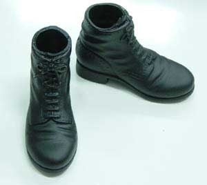 Dragon Models Loose 1/6th Scale WWII German Ankle Boots Black #DRL1-B204