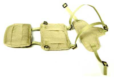 Dragon Models Loose 1/6th Scale WWII British Paratrooper Padded Harness #DRL2-P401