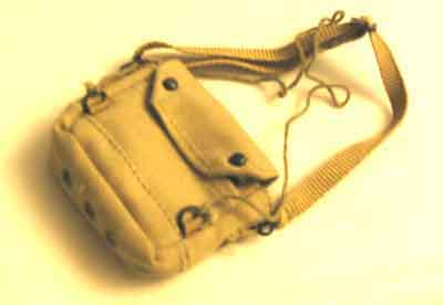 Dragon Models Loose 1/6th Scale WWII British Gas Mask Bag (Khaki) #DRL2-P403