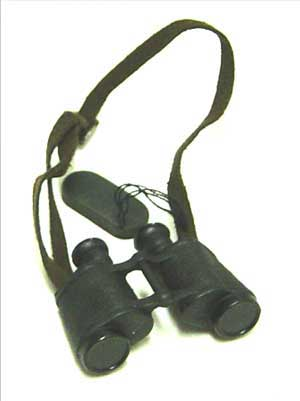 Dragon Models Loose 1/6th Scale WWII Russian Binoculars w/cover leather strap #DRL5-A402