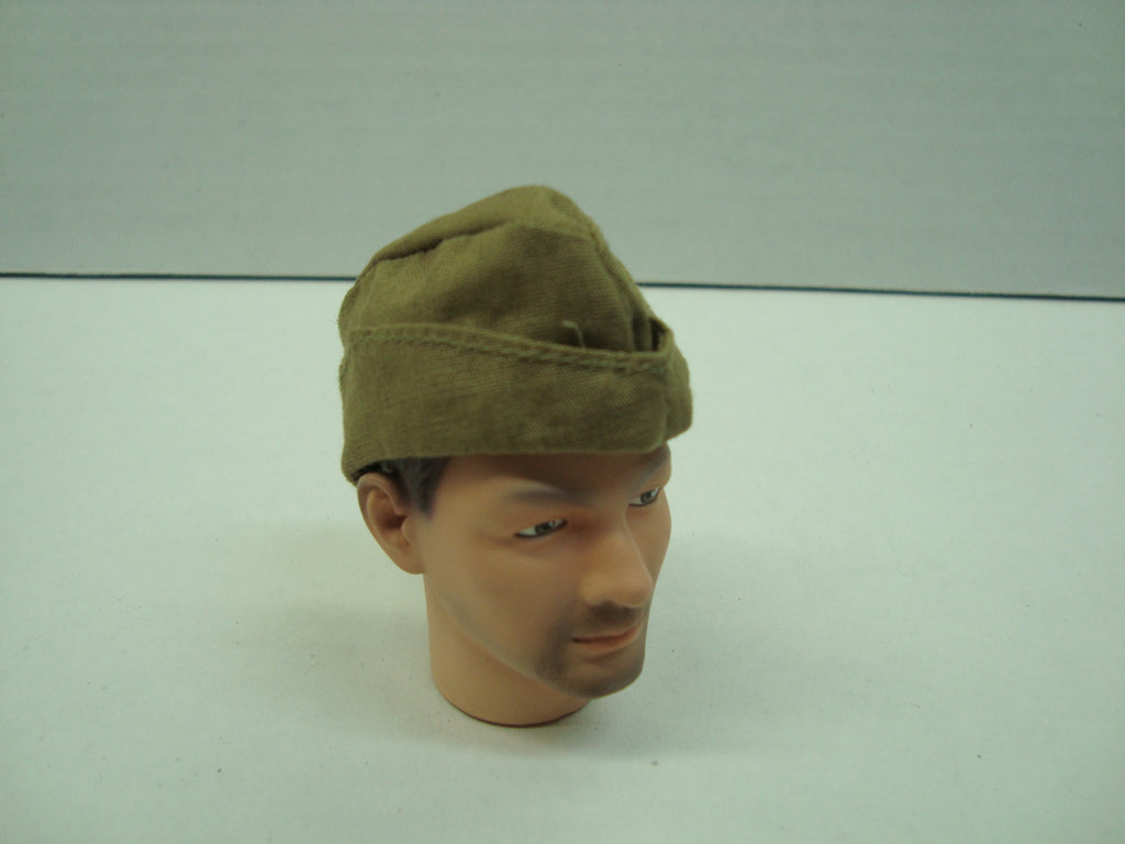 Dragon Models Loose 1/6th Scale WWII Russian Pilotka (Sidecap) (OD) no insignia #DRL5-H202