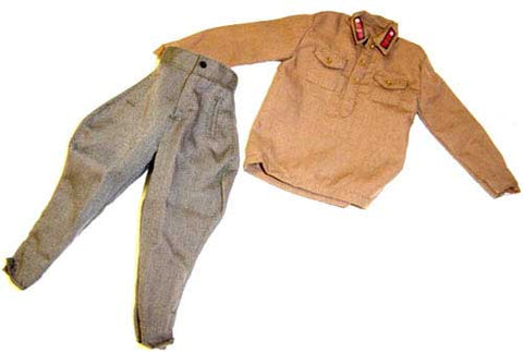 Dragon Models Loose 1/6th Scale WWII Russian Shrit (Brown) & Winter trousers #DRL5-U103