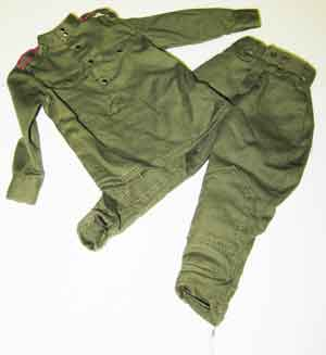 Dragon Models Loose 1/6th Scale WWII Russian M43 shirt (OD) w/pockets w/trousers Private #DRL5-U114