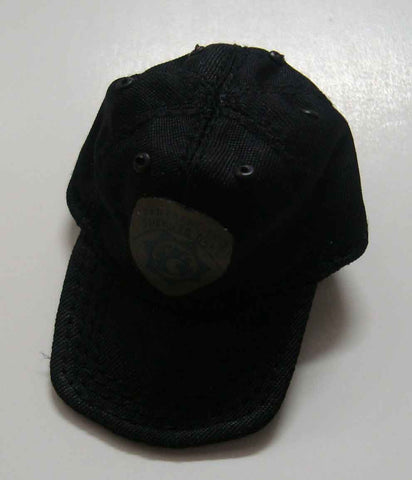 Dragon Models Loose 1/6th Scale Modern Law Enforcement SF Sheriff SRT Cap CLOTH (Black) #DRL7-H001