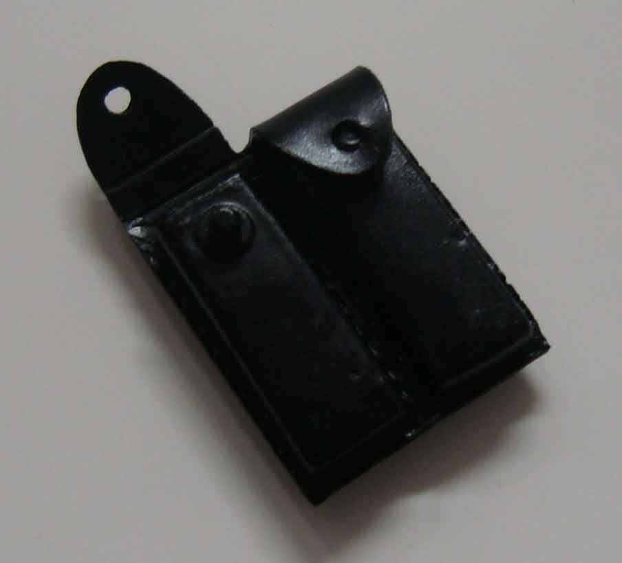 Dragon Models Loose 1/6th Scale Modern Law Enforcement Dbl Pistol Magazine pouch #DRL7-P103