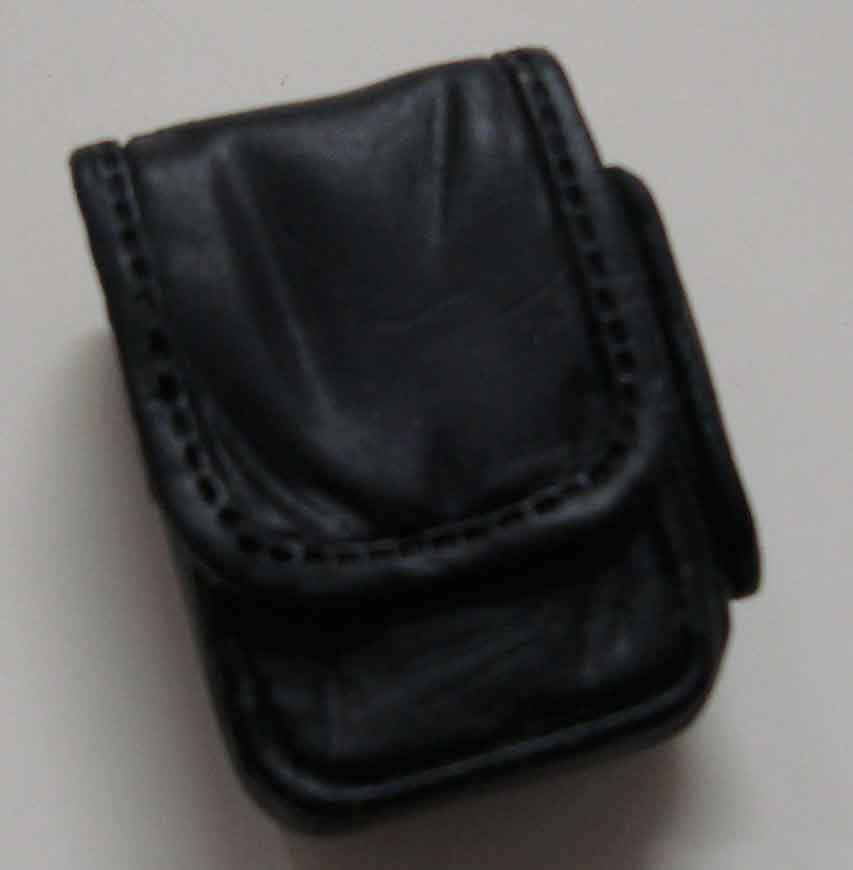 Dragon Models Loose 1/6th Scale Modern Law Enforcement Utility Pouch Large w/side pocket MOLDED #DRL7-P114