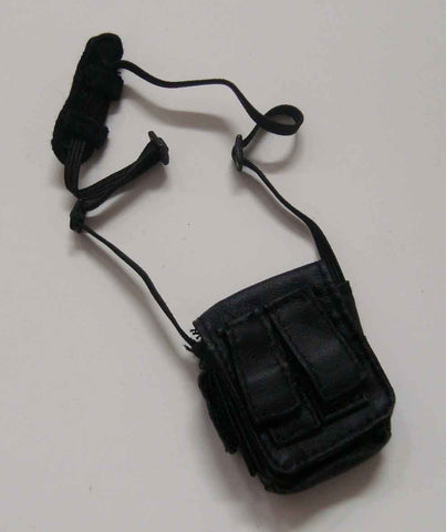Dragon Models Loose 1/6th Scale Modern Law Enforcement Satchel (Black) #DRL7-P203
