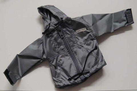 Dragon Models Loose 1/6th Scale Modern Law Enforcement Nylon Jacket (Grey) #DRL7-U004