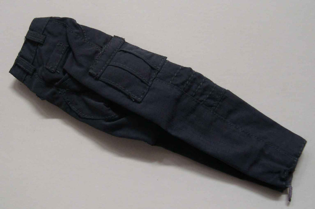 Dragon Models Loose 1/6th Scale Modern Law Enforcement Nylon BDU Style Pants (Dark Grey) #DRL7-U202