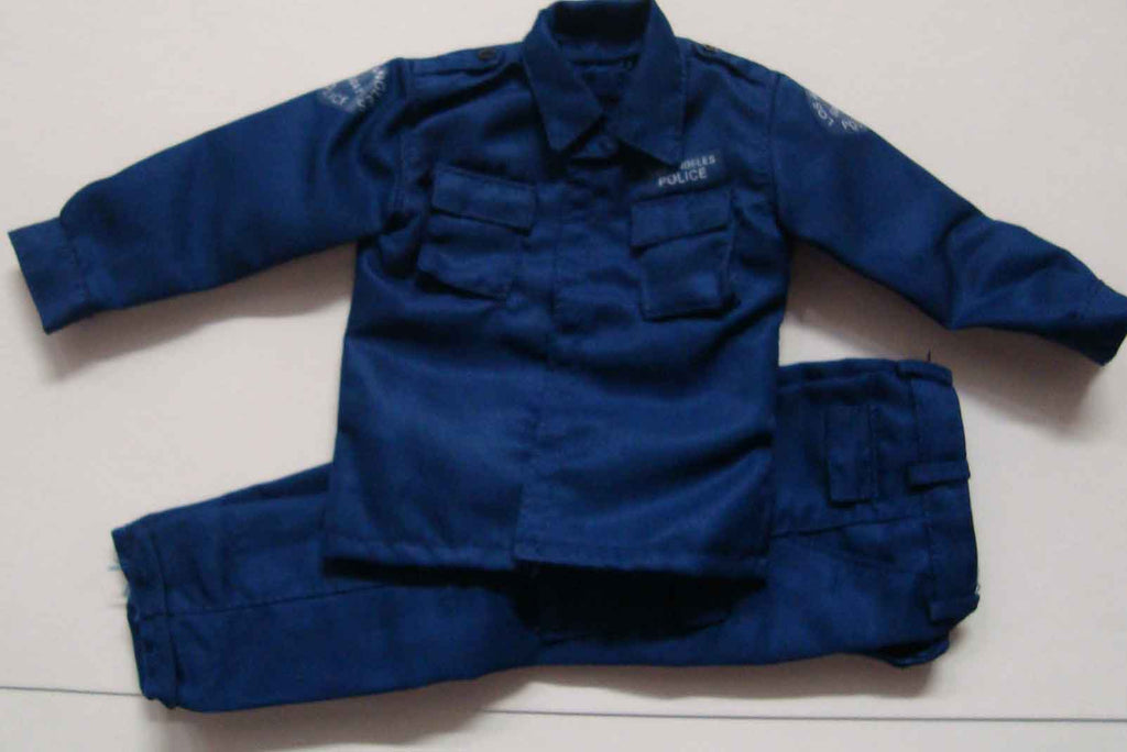 Dragon Models Loose 1/6th Scale Modern Law Enforcement LAPD SWAT Shirt & Pants  (Blue) #DRL7-U300