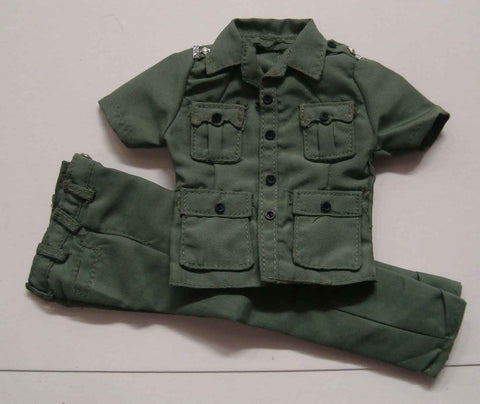 Dragon Models Loose 1/6th Scale Modern Law Enforcement RHKP Summer Uniform (Green) #DRL7-U503