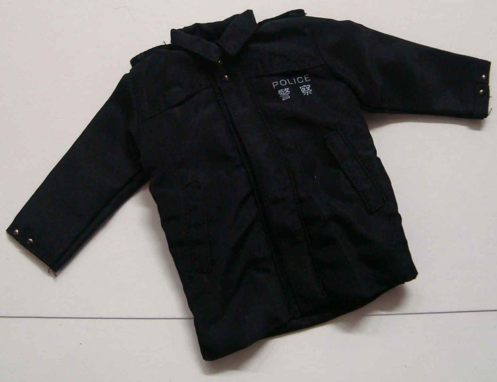 Dragon Models Loose 1/6th Scale Modern Law Enforcement RHKP Jacket (Black) #DRL7-U504