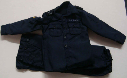 Dragon Models Loose 1/6th Scale Modern Law Enforcement RHKP EDU Uniform (Blue) #DRL7-U506