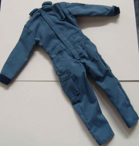 Dragon Models Loose 1/6th Scale Modern Law Enforcement GSG-9 Style Jumpsuit (Light Blue) #DRL7-U602