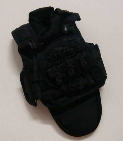 Dragon Models Loose 1/6th Scale Modern Law Enforcement SDU Level Three Vest (Black) #DRL7-Y208