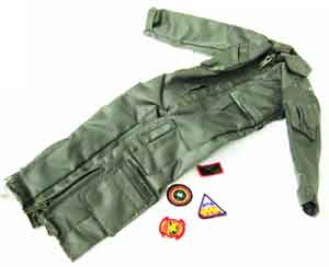 Dragon Models Loose 1/6th Scale Modern Pilot Flightsuit w/USN Patches (OD) #DRL8-U100