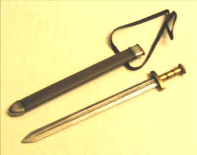 Dragon Models Loose 1/6th Scale Pre-WWII Sword & Scabbard #DRL9-W104