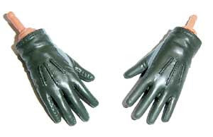 Dragon Models Loose 1/6th Gloved Hands (Nomex)(Short Cuff)(Bendy) #DRNB-H003