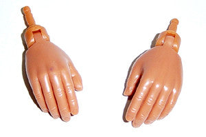 Dragon Models Loose 1/6th Hands (Flesh)(Relaxed Hands) #DRNB-H300