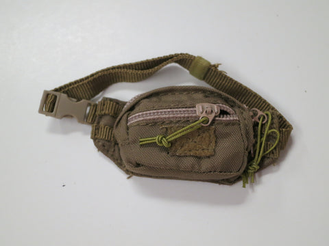 FLAG SET Loose 1/6th Fanny Pack Coyote Modern Era #FSL4-P700