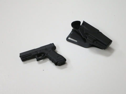 FLAG SET Loose 1/6th Glock 23 w/Holster Modern Era #FSL4-W010