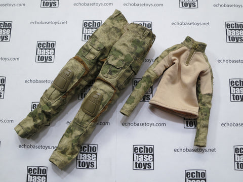 VERY COOL 1/6 Loose Gen3 Combat Uniform (Female,A-TACS) #VCL9-U100