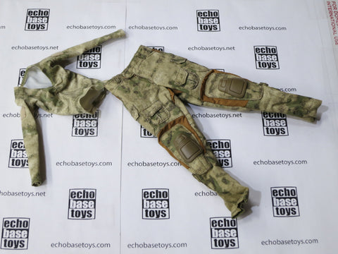 VERY COOL 1/6 Loose Gen3 Combat Pants w/Compression Top (Female,A-TACS) #VCL9-U101