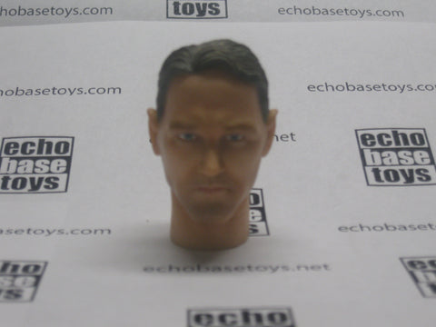 Dragon Models Loose 1/6th Head Sculpt Robert Hughman Modern Era #DRHS-ROBERT2