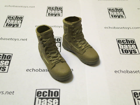 MC TOYS Loose 1/6th Boots (Combat,Desert,Pair) Modern Era #MCL4-B200