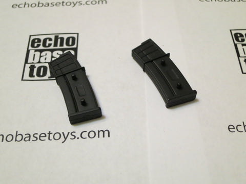 MC TOYS Loose 1/6th G-36 Rifle Magazine (2x, Black Color) Modern Era #MCL4-X180