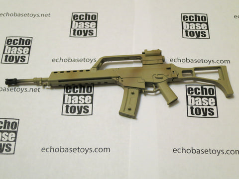 MC TOYS Loose 1/6th G-36 Rifle (Tan Painted) Modern Era #MCL4-W501