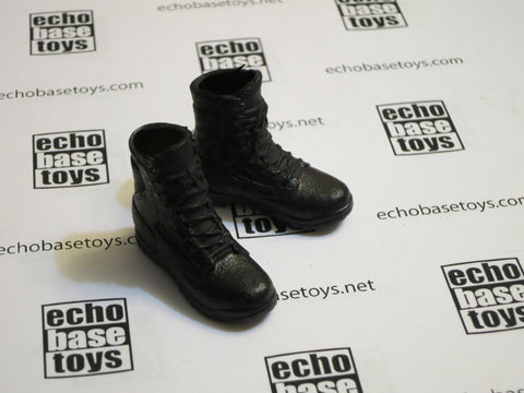 MC TOYS Loose 1/6th Boots (Combat,Black, Pair) Modern Era #MCL4-B100