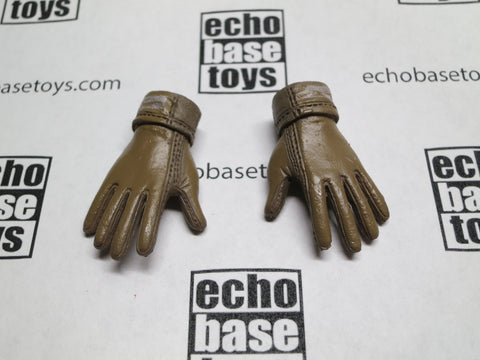 Toy Soldier Loose 1/6th Gloved Hands (Bendy/Nomex/Brown) #TSNB-LH100