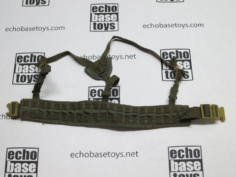Toy Soldier Loose 1/6th MOLLE Duty Belt w/Suspenders (OD) Modern Era #TSL4-Y404