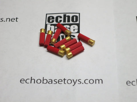 MC TOYS Loose 1/6th Shotgun Shells (Red)(10x) Modern Era #MCL4-X400