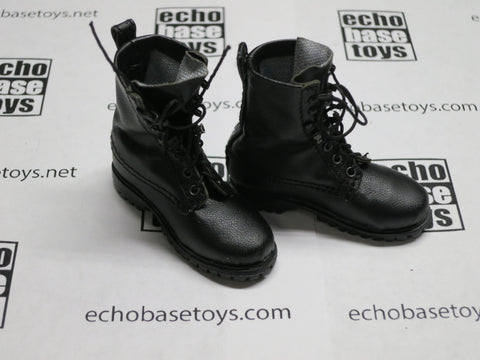 MC TOYS Loose 1/6th Boots (Combat,Black) Modern Era #MCL4-B500
