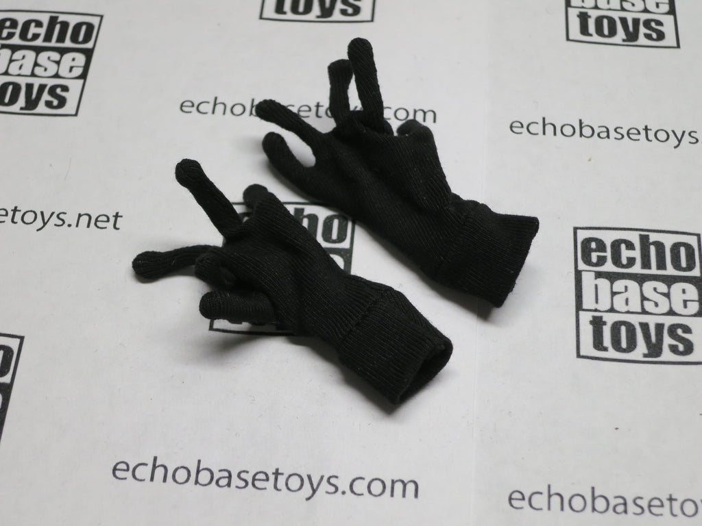 MC TOYS Loose 1/6th Gloves (Black) Modern Era #MCL4-A700
