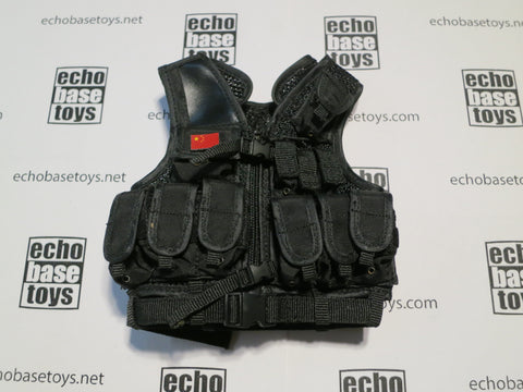 DAM Toys Loose 1/6th Tactical Vest (BK) Modern Era  #DAM4-Y410